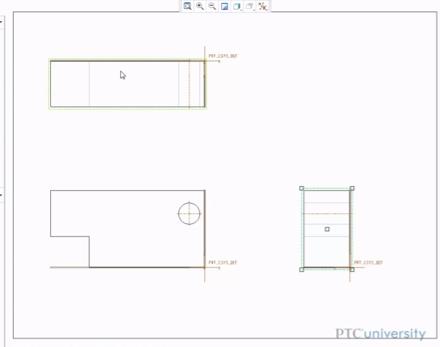Drawing in Creo Parametric 2.0